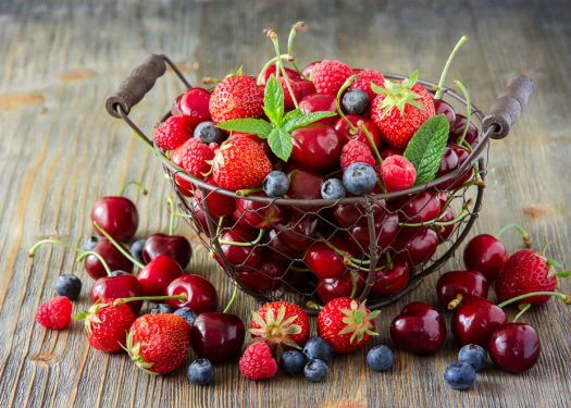 Top Ten Healthy Fruits