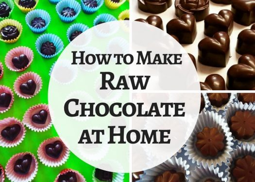 how to make raw chocolate at home