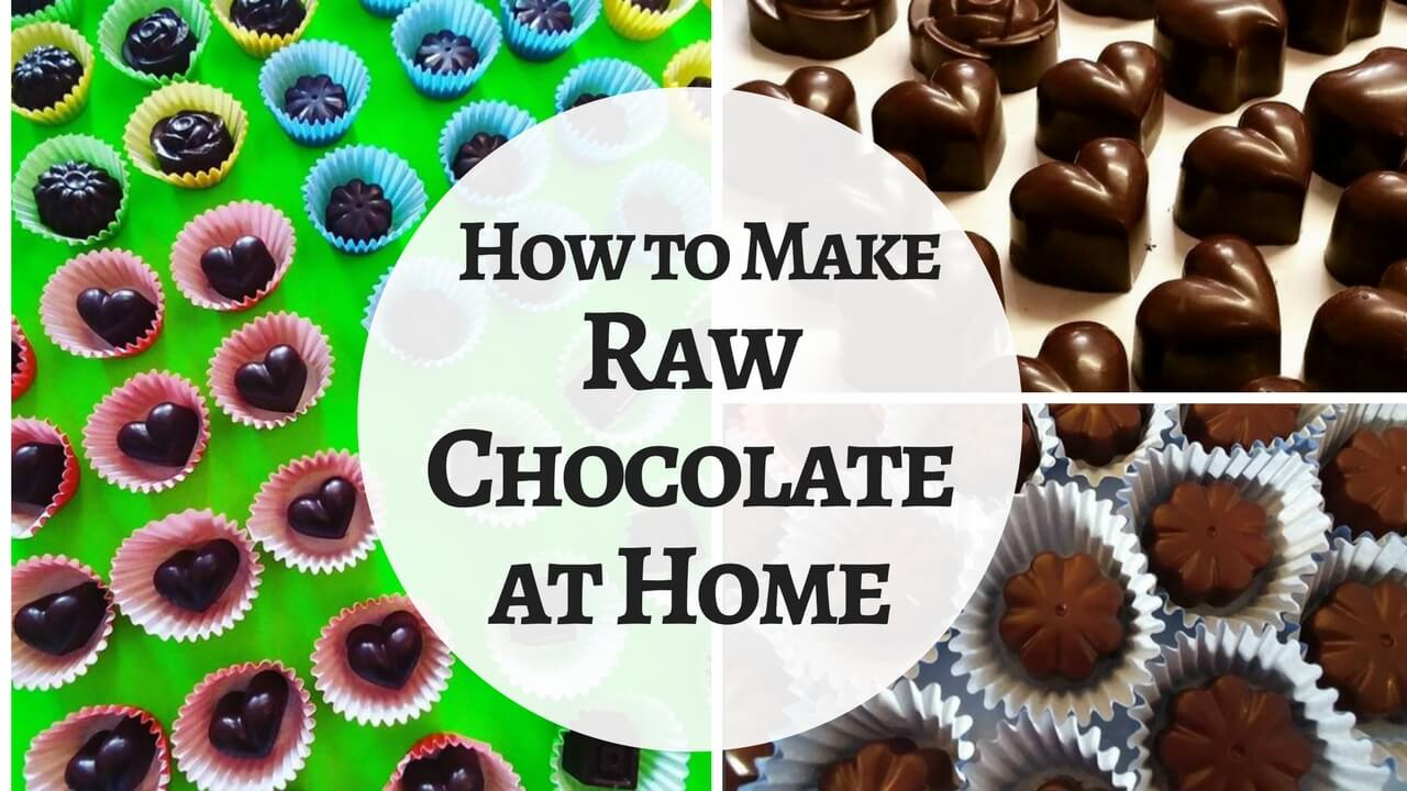 How to Make Healthy Chocolate