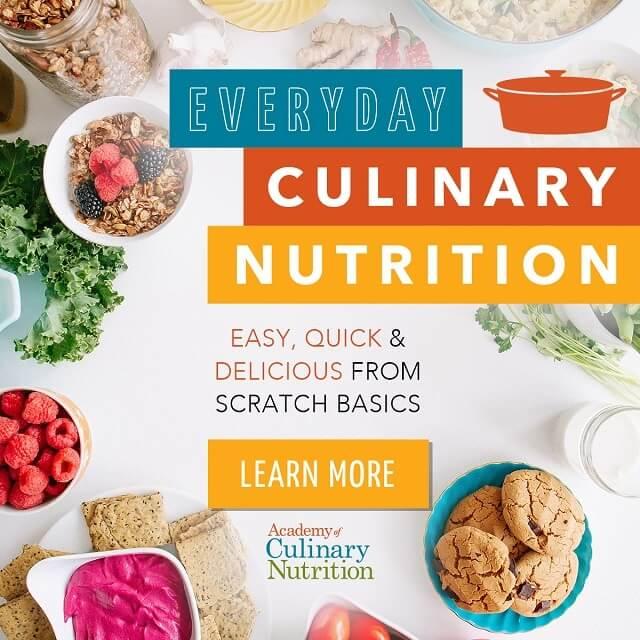 Everyday culinary nutrition